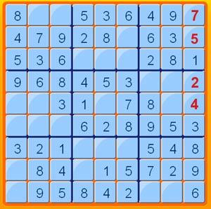 لعبة السودوكو Sudoku-puzzle