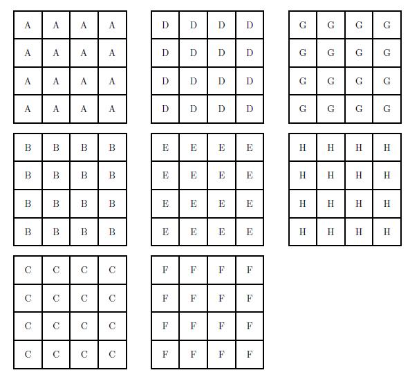 math worksheet : grid piles for your math center : 8x8 Math